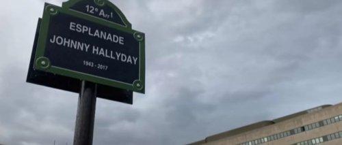 Perchée dans Paris, la statue en hommage à Johnny Hallyday fait déjà jaser
