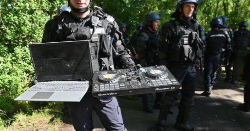 Évacuation du teknival de Redon: des collectifs dénoncent la destruction de matériel