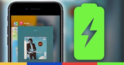 Fermer les 103 applis de son iPhone permet-il d'économiser la batterie ?