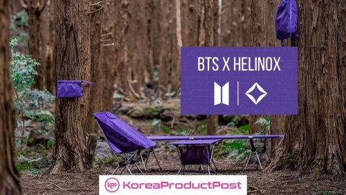 BTS x Helinox – New Vibrant Line of Outdoor Gear