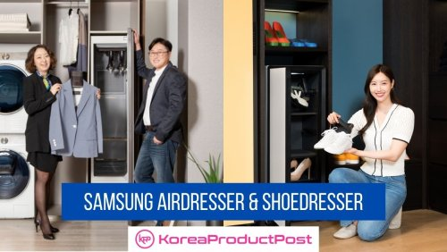 K-Innovation Reaches New Heights as Samsung Unveils New Products that Keep Clothes and Shoes Clean Without Washing