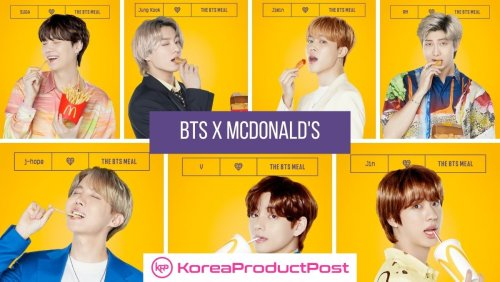 """McDonald's Collab with BTS and We are """"Lovin' It""""!"""