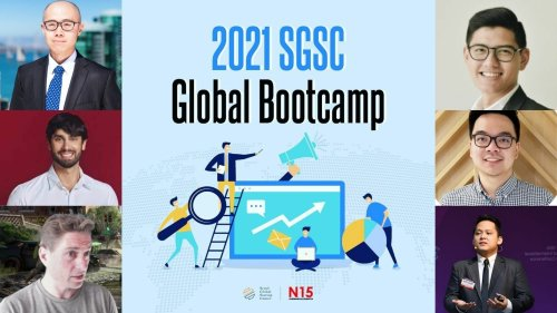 SGSC Global Bootcamp 2021 sessions end; Participating Korean startups' final pitch on June 24th