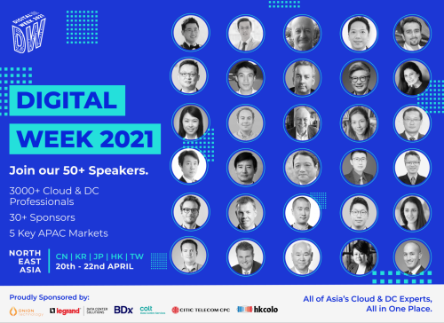 Join Asia's Top Cloud and Digital Transformation Experts at Digital Week: Northeast Asia 2021