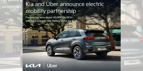 Kia Boosts Europe's Zero-Emission BEV Adoption with Uber