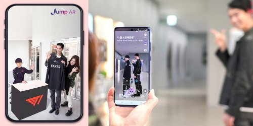 SK Telecom's AR Service 'Jump AR' Enters US Google Play Store