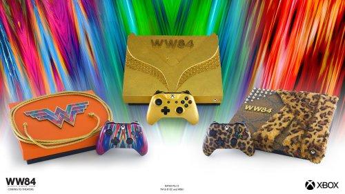 Microsoft's Custom Wonder Woman 1984 Xboxen Are So Fancy