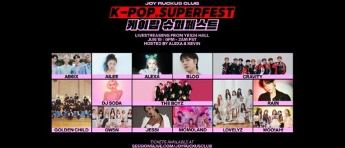 Kpop SuperFest by Sessions with Joy Ruckus Club Live From Yes24 Live Hall in Seoul