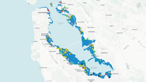Maps: See Which Bay Area Locations Are at Risk From Rising Seas | KQED