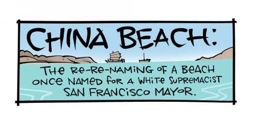 The Re-Renaming of SF's China Beach: Honoring Immigrants, Rejecting White Supremacy | KQED
