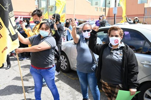 Low-Wage Workers Lack COVID Protections, Fear Retaliation, California Survey Shows | KQED