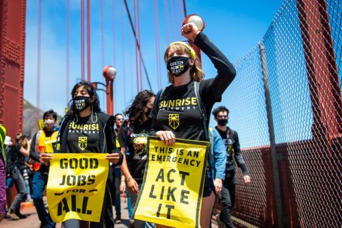 Young Activists March From Paradise to SF in 100 Degree Heat to Protest Climate Crisis | KQED