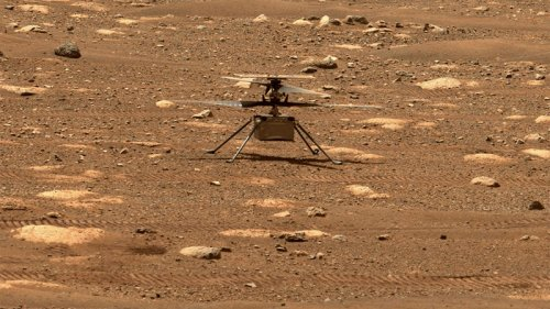 A Helicopter Takes Off on Mars | KQED