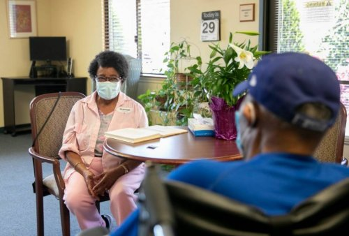 Nursing Home Residents Are Finally Starting to See Their Loved Ones | KQED