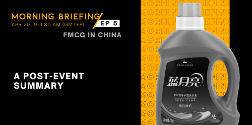 Blue Moon tops but only in online sales for flagship detergent | Morning Briefing Ep 5