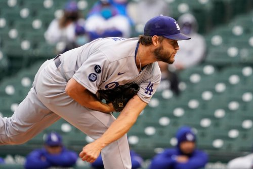Kershaw goes 1 inning in his shortest career start as Dodgers fall to Cubs in 1st game of doubleheader