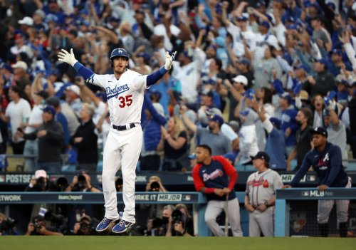 Belli bomb: Dodgers come from behind after early lead in Game 3 of NLCS, beat Braves in stunning upset