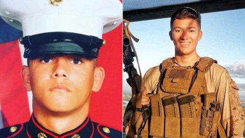 Memorial service honors Marine Lance Corporal Kareem Nikoui in Riverside County