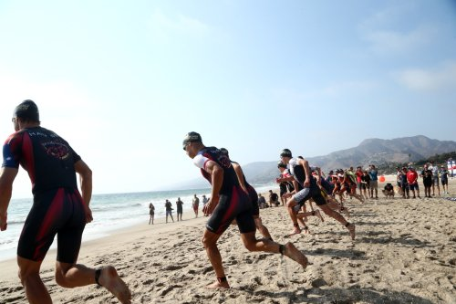Malibu Triathlon underway to raise funds for cancer research at Children's Hospital Los Angeles