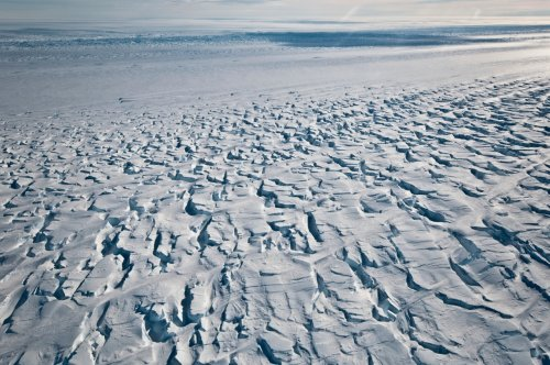 Scientists worry ice shelf protecting critical Antarctic glacier is breaking up faster