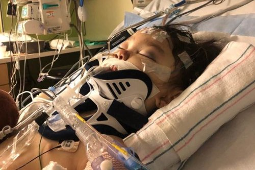 Accident during sledding trip to San Gabriel mountains kills mother, sends 4-year-old girl to ICU