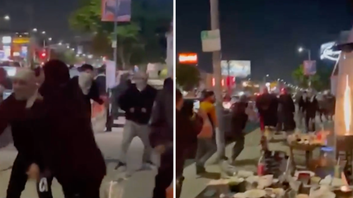 2 men charged with hate crime in attack on Jewish diners outside Beverly Grove restaurant during pro-Palestinian rally