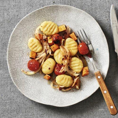 Gnocchi mit Ofengemüse