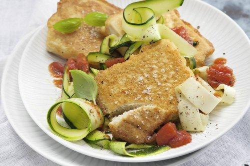 Tofu-Piccata Rezept (Low Carb)