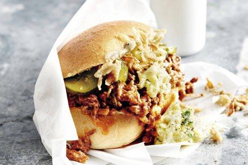 Sloppy Joe - Burger mit Rührei