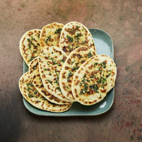 Knoblauch-Naan