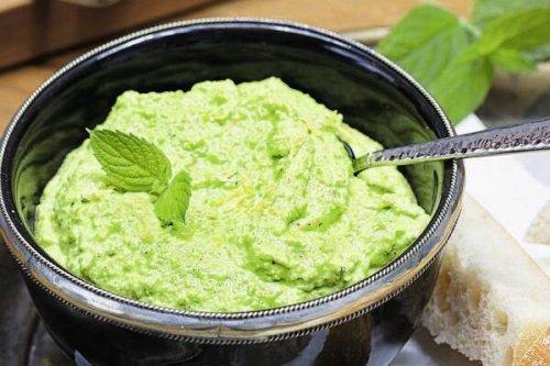 Erbsen-Hummus