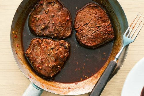 Rinderfilet mit Rotweinsauce