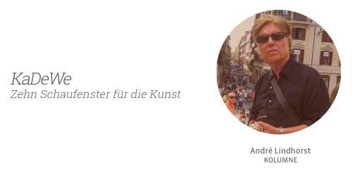 KaDeWe – Zehn Schaufenster für die Kunst - Kunstleben Berlin - das Kunstmagazin