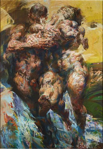 Kolumne. Angeschaut: SITTES WELT – Willi Sitte im Kunstmuseum Moritzburg in Halle - Kunstleben Berlin - das Kunstmagazin