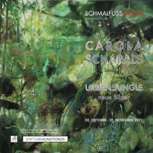 CAROLA SCHAPALS - URBAN JUNGLE - Kunstleben Berlin - das Kunstmagazin