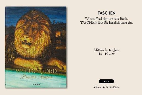 """Gewinne eine XL-Ausgabe von Walton Fords """"Pancha Tantra"""" - Kunstleben Berlin - das Kunstmagazin"""