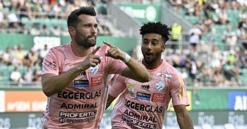 Heimpleite gegen Hartberg: Rapid verpatzt den Bundesliga-Auftakt