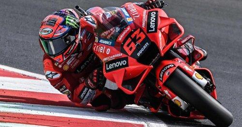 Nach MotoGP-Premierensieg: Bagnaia holte sich in Misano die Pole