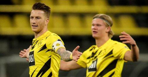 Dortmund bangt um den Einsatz von Haaland und Reus