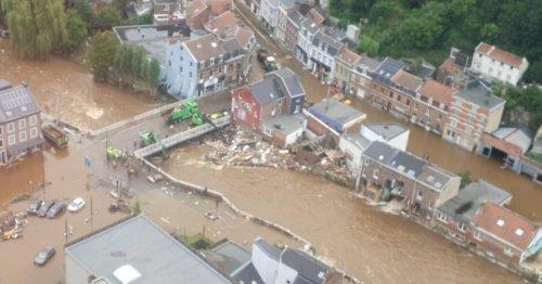 Erneut schwere Unwetter und Sturzfluten in Belgien