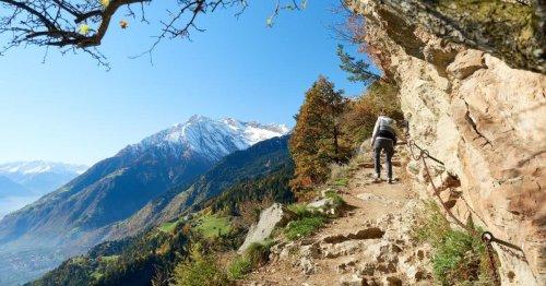 Meraner Höhenweg: Über die Berge zum Kuchenbuffet