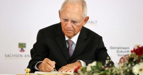 Schäuble: Porträt des Grandseigneur deutscher Nachkriegspolitik
