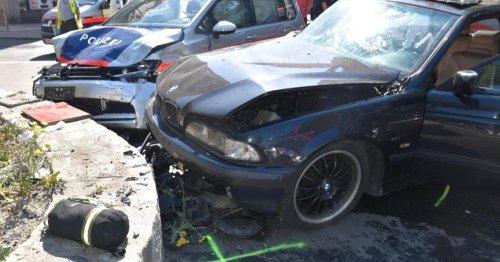 Einsatzfahrt der Wiener Polizei endete mit Unfall und Schwerverletzten