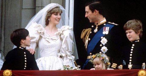 Hochzeit mit Charles vor 40 Jahren: Missgeschick zerstörte Dianas größten Moment