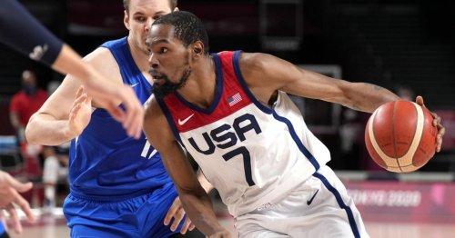 US-Basketballer mit Rekordmann Durant im Viertelfinale