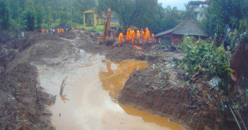 Mindestens 159 Tote durch Erdrutsche und Überschwemmungen in Indien