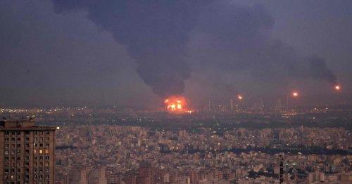Großbrand in Ölraffinerie in Teheran