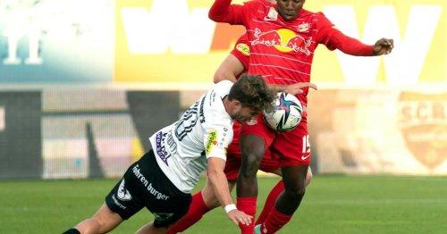 Das Ende der Salzburger-Serie - ein 1:1 gegen Altach