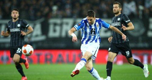Europa League live: so steht es bei Sturm Graz gegen Real Sociedad