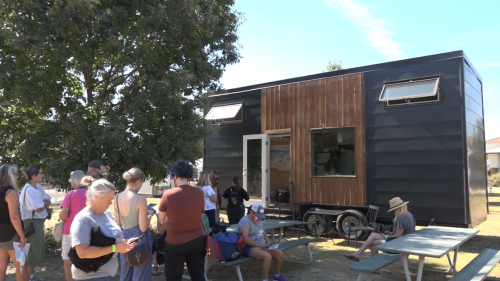 'Tiny living' becoming more of a trend in Austin as people visit TinyFest to look at options